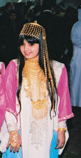traditional dress from the united arab emirates jalabiya