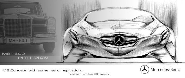 mercedes sketch