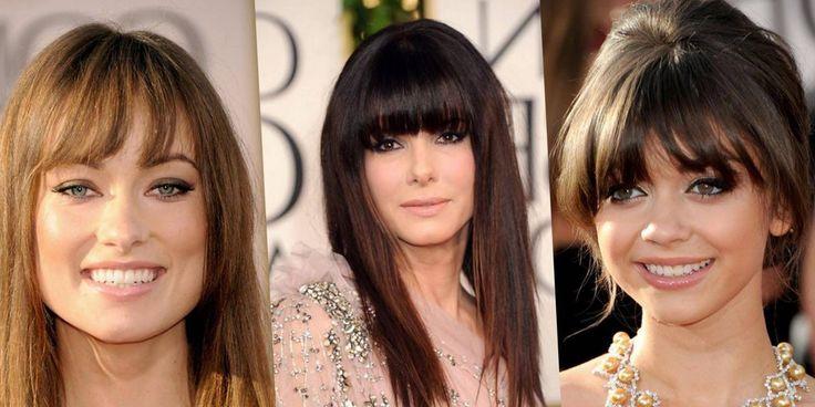 Прически с отросшей челкой - http://popricheskam.ru/122-pricheski-s-otrosshej-chelkoj.html. #прически #стрижки #тренды2017 #мода #волосы