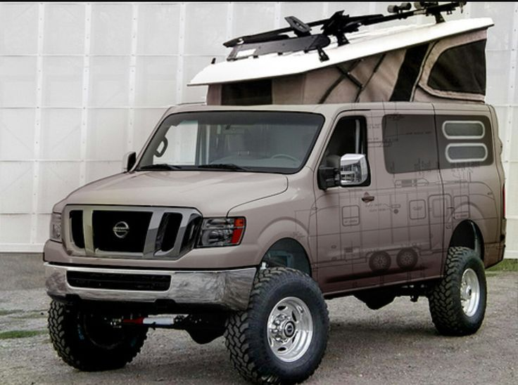 Image result for 4x4 nissan cargo van | Nissan vans, 4x4 ...
