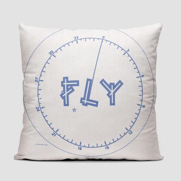 Fly VFR Chart - Throw Pillow