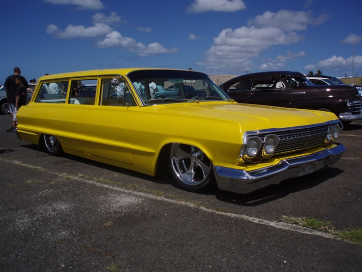 63 impala wagon nomas pa tirar cotorreo lowriders. Black Bedroom Furniture Sets. Home Design Ideas