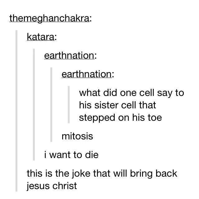 Mitosis, tumblr funny