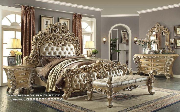 Ukiran Jati Tempat Tidur Ukir Jepara Mewah Tempat Tidur Ukir Jepara Mewah - Merupakan produk unggulan kamiyang kita buat dengan berkwalitas terbaik standar produk asli furniture jepara.