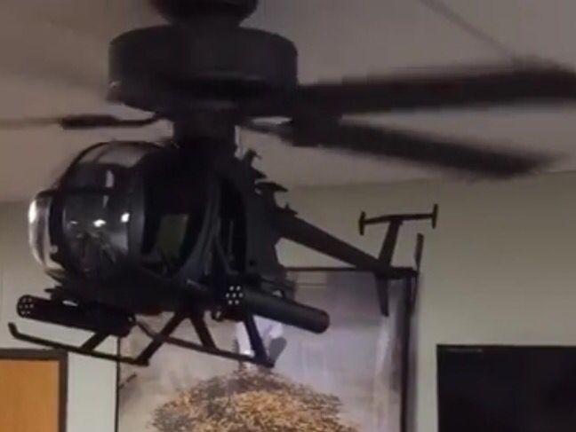 Helicopter Fan Genius Boys Bedroom Ideas