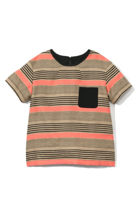 Sea Combo Stripe Pocket Tee