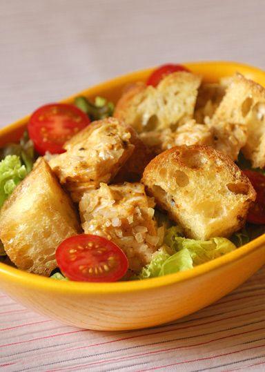 スパイシーチキンのパンサラダ のレシピ・作り方 │ABCクッキングスタジオのレシピ | 料理教室・スクールならABCクッキングスタジオ
