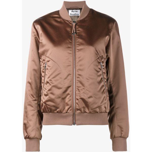 The 25  best Brown bomber jacket ideas on Pinterest | Bomber ...