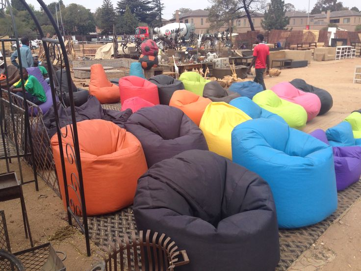 Beanbags awesome for a study. Found corner William Nicol and Main