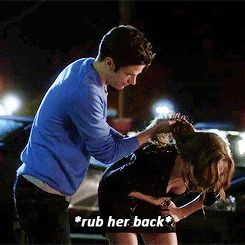 That's how you treat a drunk woman! Men, take notes from Barry Allen!