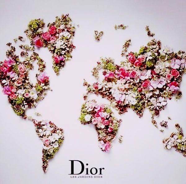 A floral world