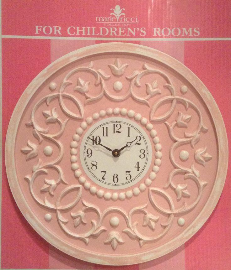 47 best Nursery Clocks images on Pinterest Children s Wall