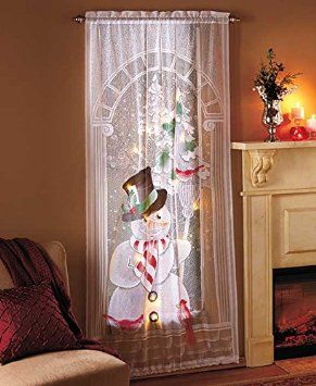 17 Best Images About Christmas Curtains On Pinterest