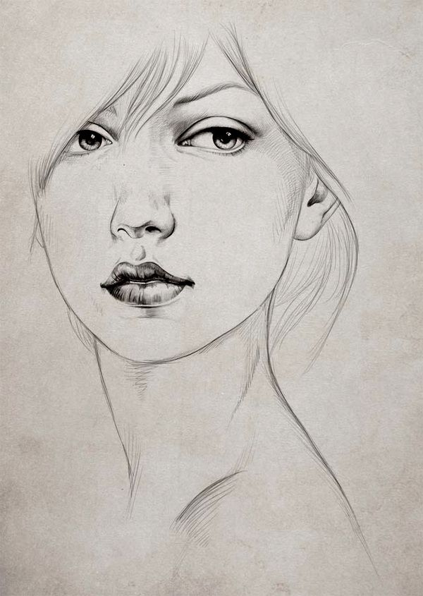 drawings and sketches by diego fernandez via behance - Simple Sketch For Kids