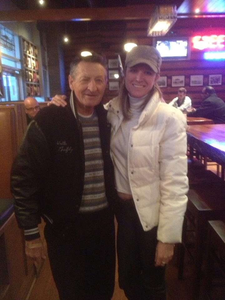 Walter Gretzky dropped by our Downtown Toronto location before the Leafs game