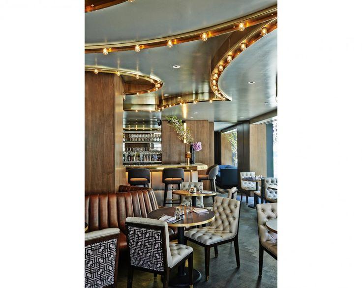 Wayfarer Restaurant. Lighting Design by Kugler Ning Lighting Design #Wayfarer #RestaurantDesign #LightingDesign #NYC