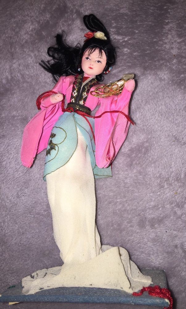 Asian Oriental Japanese Vintage Papier-Maché Doll Figurine Chinese    eBay