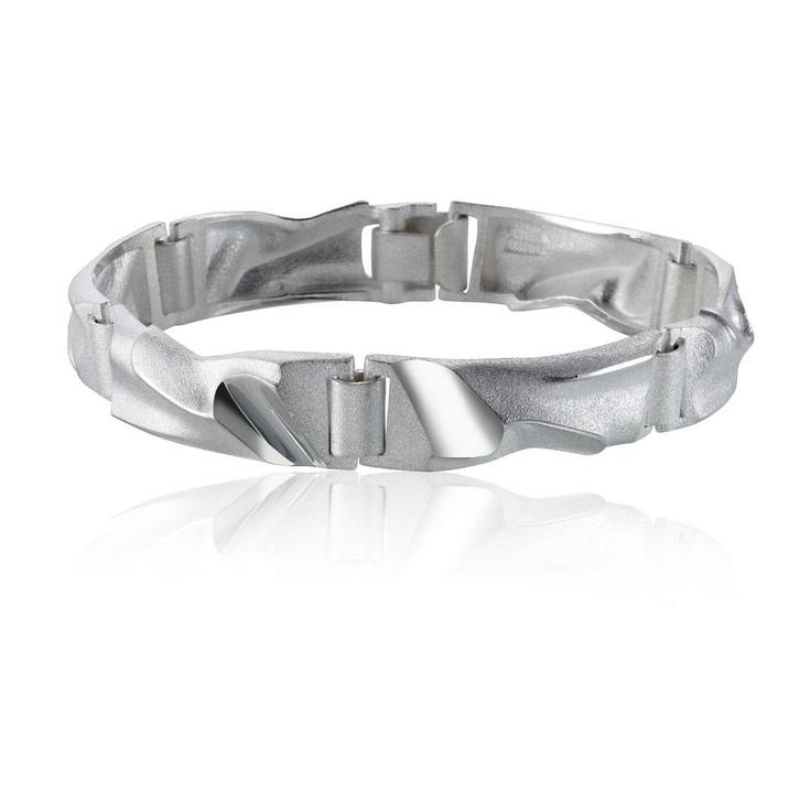 REEF  Design Zoltan Popovits / Silver Bracelet / Lapponia Jewelry / Handmade in Helsinki