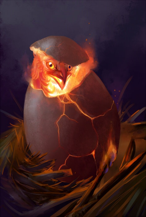 Phoenix Egg by Hannah Böving join us http://pinterest.com/koztar