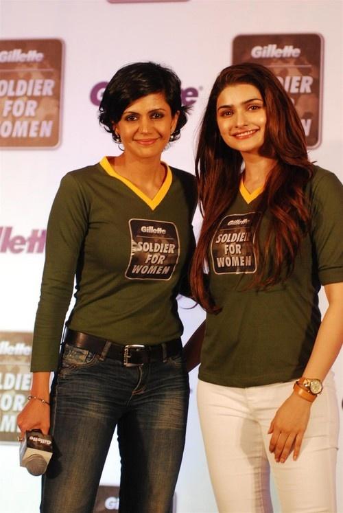 'Soldier for Women' Campaign - Aditya Roy Kapur, Prachi Desai, Mandira Bedi, Arbaaz Khan
