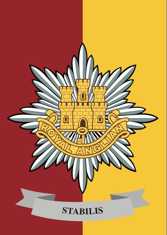 The Royal Anglian Regiment is an infantry regiment of the British Army and is one of the four regiments of the Queen's Division. The regiment came into being following the amalgamation of various county regiments and thus can trace its lineage back to 1685. Soldiers and officers of the regiment have been involved in nearly every conflict in the modern era.