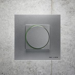 Serie Zenit de Niessen - El punto culminante en series modulares - NIESSEN - Interruptores, domótica, sistemas de comunicación y sonido | ABB