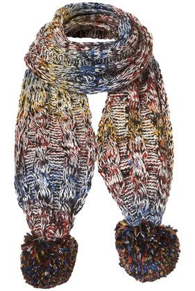 Mix Yarn Scarf