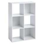 ClosetMaid 6 Cube Storage Organiser - White