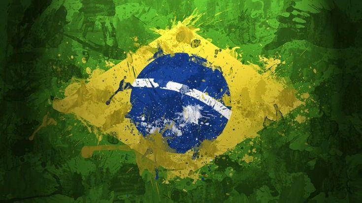#grunge Brazil #flag