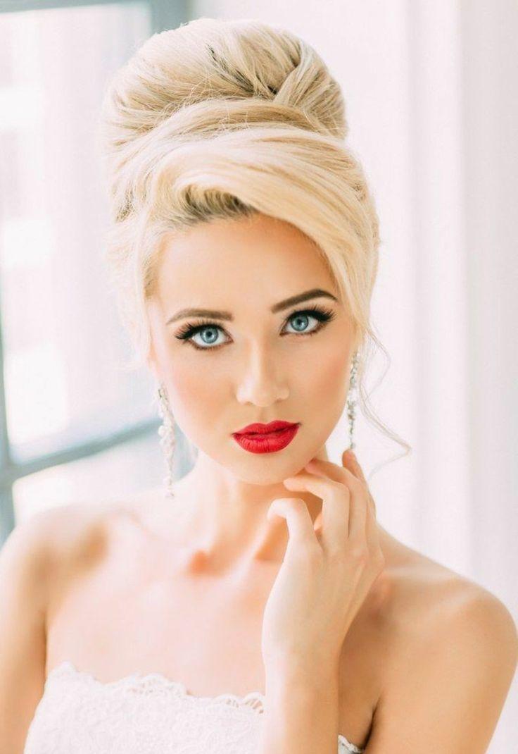▷ 1001+ Bridal Ideas: Open, Semi-Open or Pinned? – Bridal Hairstyles – Bridal Hairstyles – Fashion – #Bride Hairstyle #Brautfrisure …