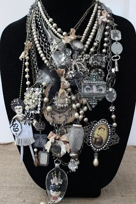 shrink plastic jewelry -- I really want to try this sometime!