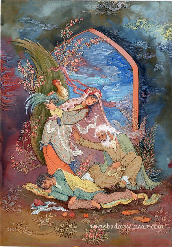 Reza Badrossama - Quatrain of Khayyam 12