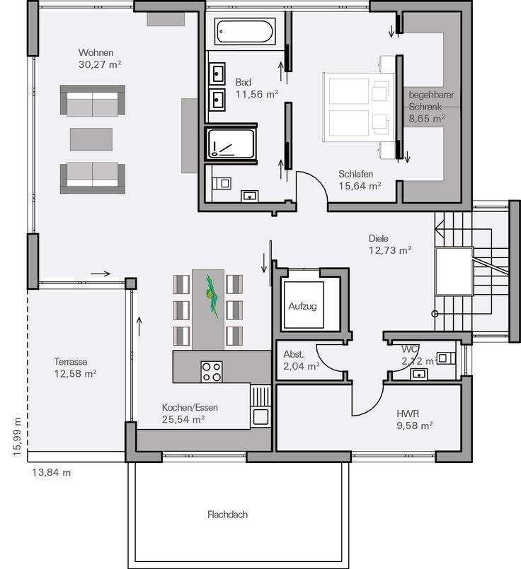 60 besten Grundrisse Bilder auf Pinterest Hauspläne, Haus