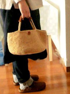 初心者も簡単!麻ひもバッグの編み方・作り方(材料 内布 画像 100均 付け方 - NAVER まとめ