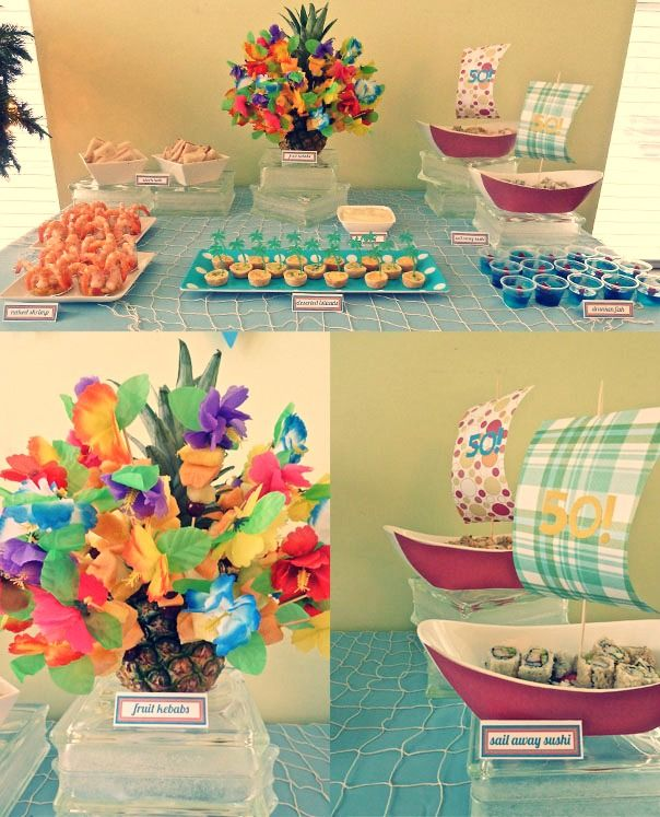 Party Island Beach: 94 Best Images About 50th Birthday Party Favors And Ideas