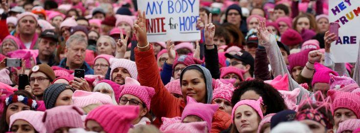 Washington gegen Trump: Der Marsch der Frauen