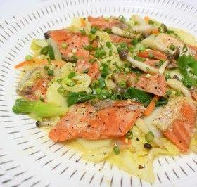 ☆フライパンで簡単 鮭のちゃんちゃん焼き by とうほうキッチン ...