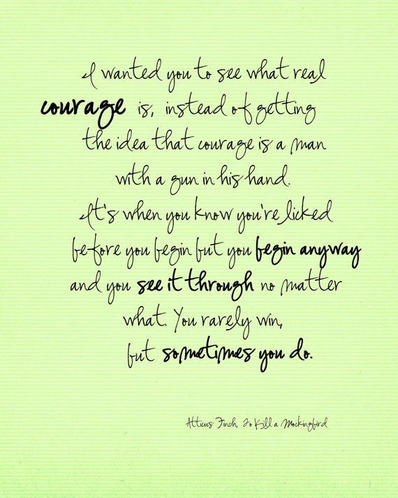 Atticus Quote To Kill A Mockingbird Quotes Pinterest Quotes Enchanting Atticus Finch Quotes With Page Numbers
