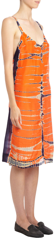 Shibori Dress by Raquel Allegra (must.nix.those.hideous.shoes!)