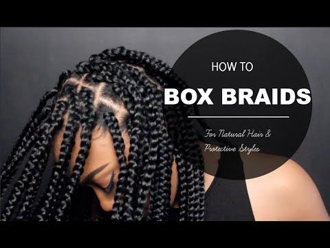 Would You Want To Spend This Much Time On These Chunky & Beautiful Box Braids? I Would! - Black Women's Natural Hair Styles - A.A.H.V