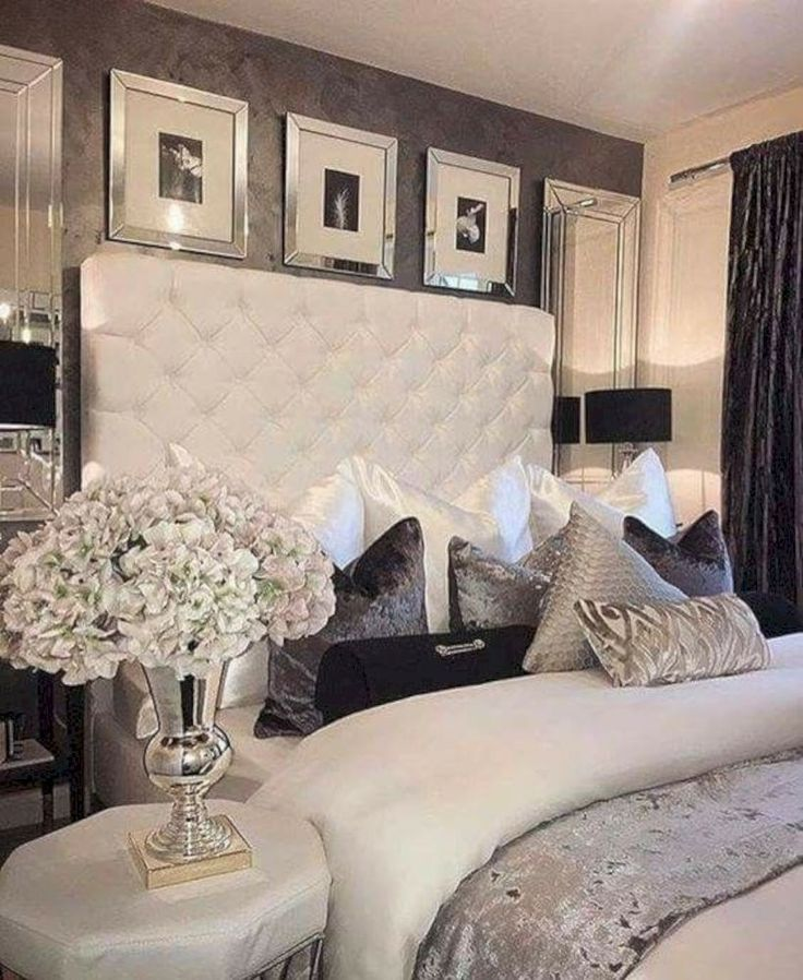 40 Newest Master Bedroom Ideas That You Will Dreaming Homahomy Luxury Bedroom Master Luxurious Bedrooms Glam Bedroom Decor