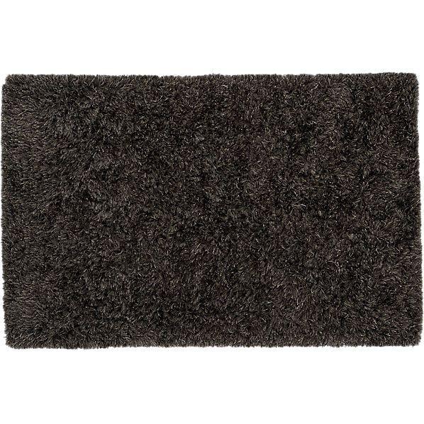 drake grey shag rug - CB2- $399-699