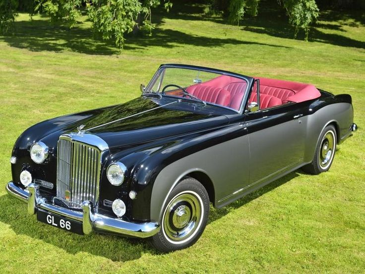 1958 Bentley S1 Continental Park Ward RHD Drophead