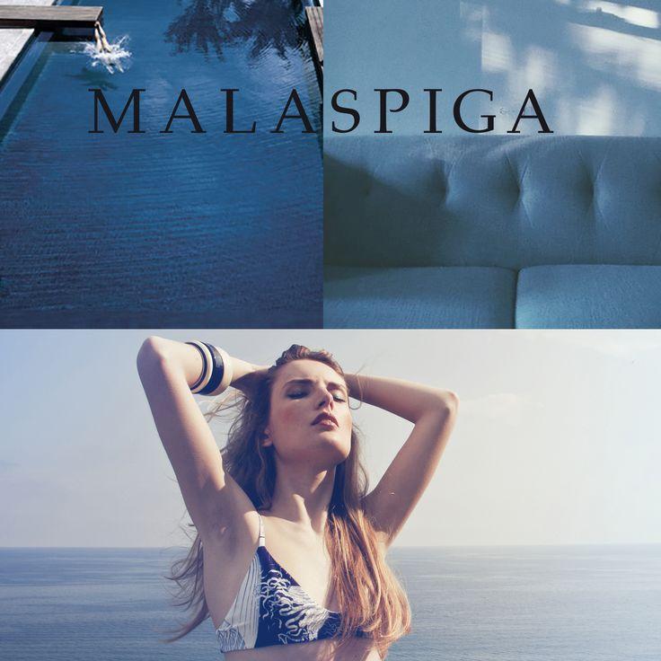 #blue #swimwear #malaspiga #madeinItaly #swim #beachwear #summer #chic #luxury