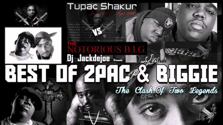 Best of 2Pac & The Notorious B.I.G Greatest Hits - HIP HOP OLD SCHOOL