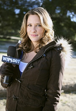 Whoever finds Jill Wagner her clothes for Wipeout does an awesome job.