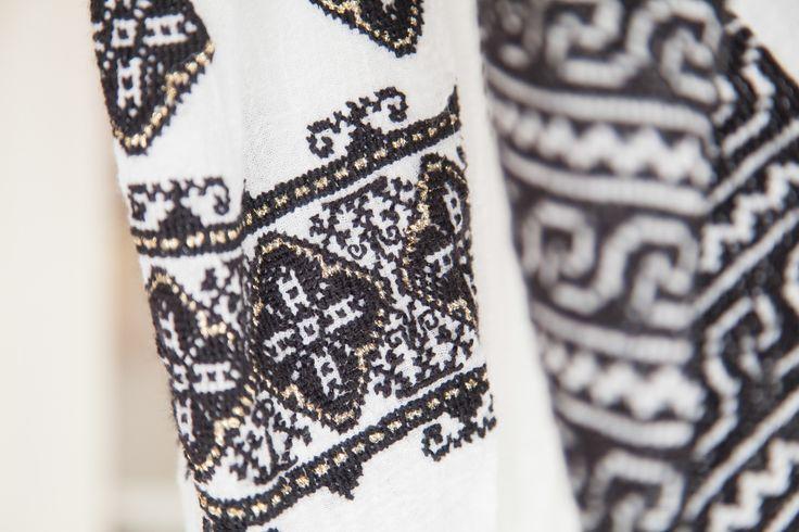 Handmade details! #florideie #handmade #details #blackandwhite #style #fashion #designer #romania