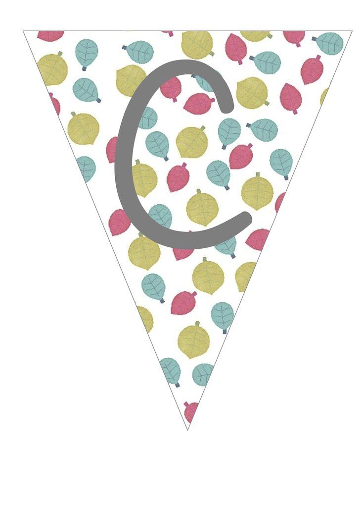 Imprimible guirnalda de banderolas para imprimir by pitis for Guirnaldas para imprimir