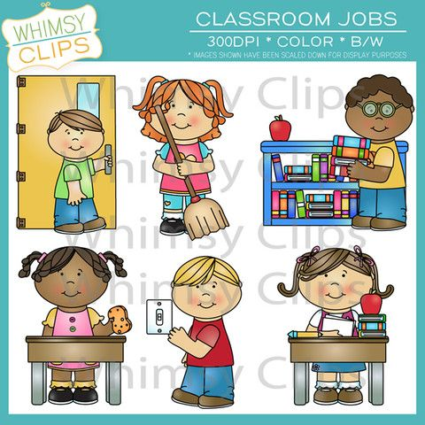 15 best classroom job clip art images on pinterest