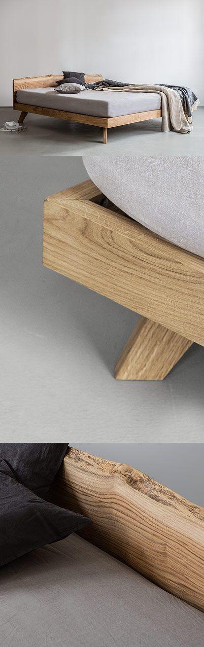 Das Kopfteil finde ich noch ganz interessant: NUTSANDWOODS – Oak Bed